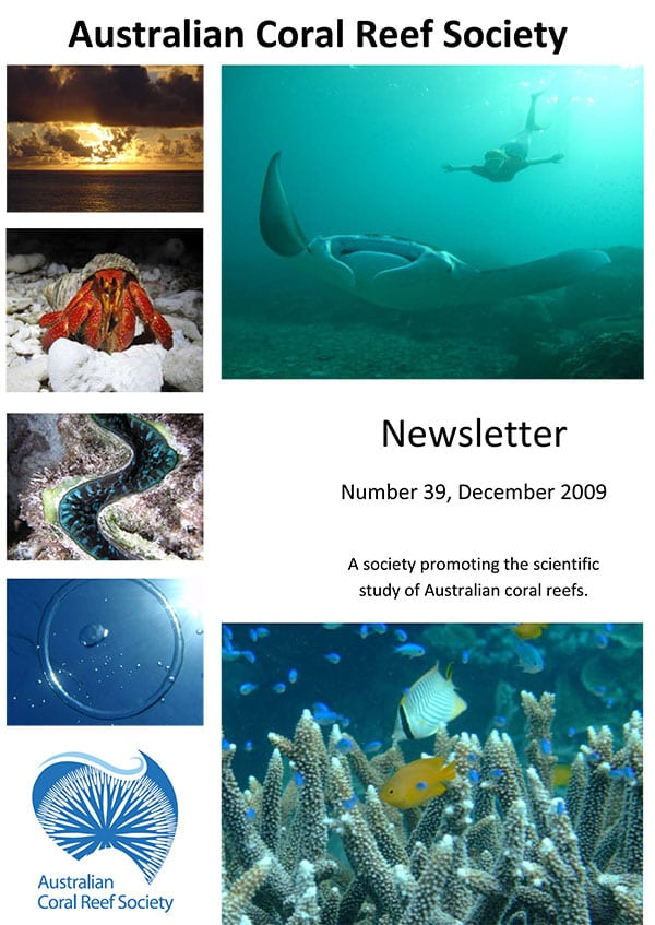 f93fba1768afe3 Australian Coral Reef Society Newsletter