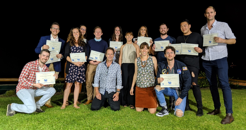 Prize Winners of ACRS 2019 at Moreton Island.